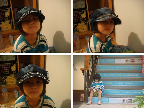 荳荳戴小姐姐帽子