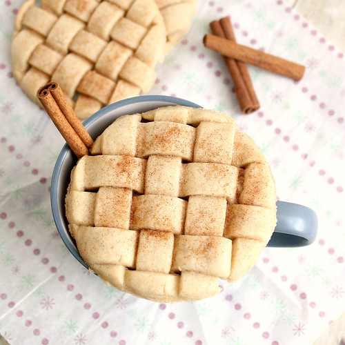 Eggnog Lattice Sugar Cookies