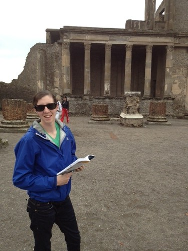 My trusty Pompeii tour guide