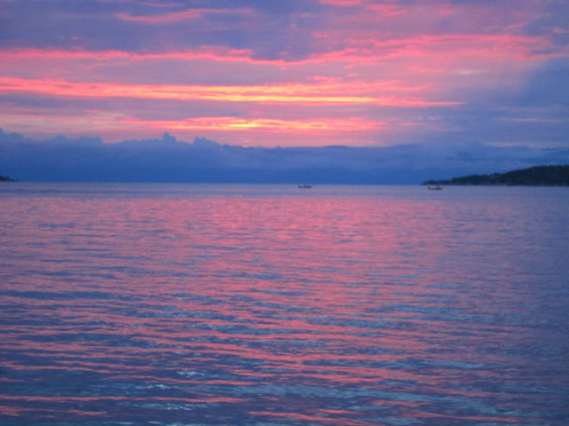 Lake Tanganyika Sunset