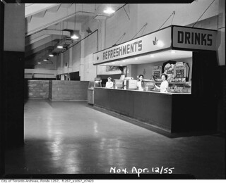 Maple Leaf Gardens refreshment stand