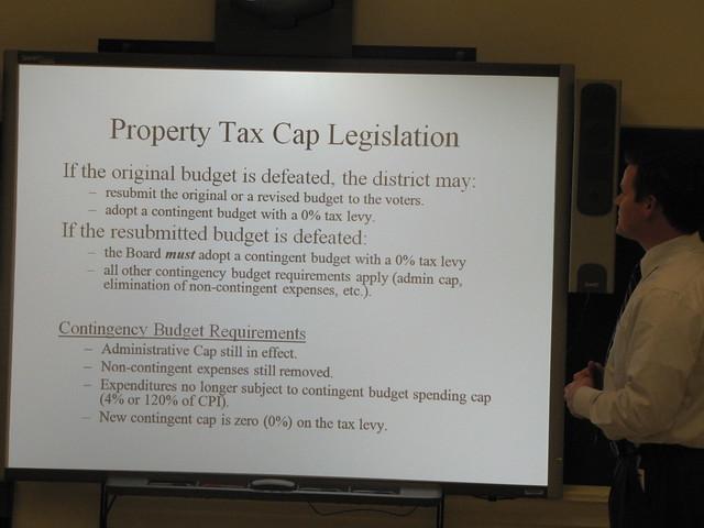 Property Tax Cap Legislation