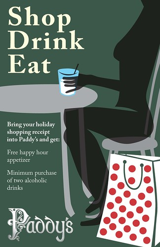 Shop, Drink, Eat at Paddys