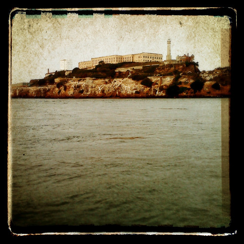 Heading to Alcatraz