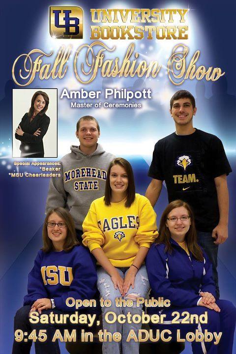 MBS Foreword Online - Morehead State University Bookstore Fashion Show