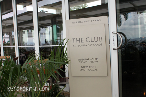 The Club, Marina Bay Sands