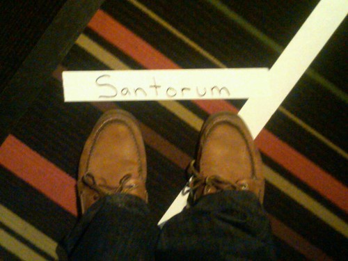 Santorum shoes