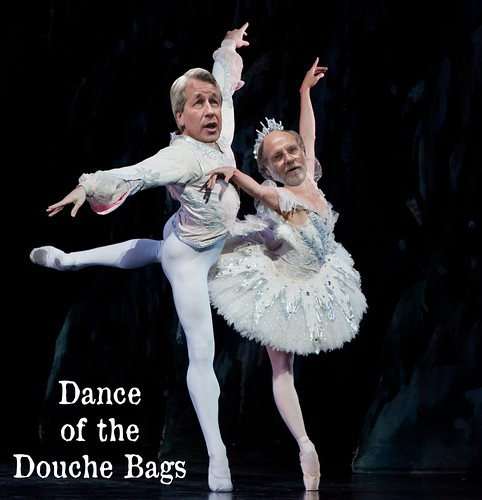 DANCE OF THE DOUCHE BAGS by Colonel Flick