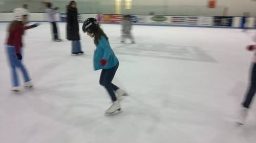 Amelie tricks on ice by ngoldapple