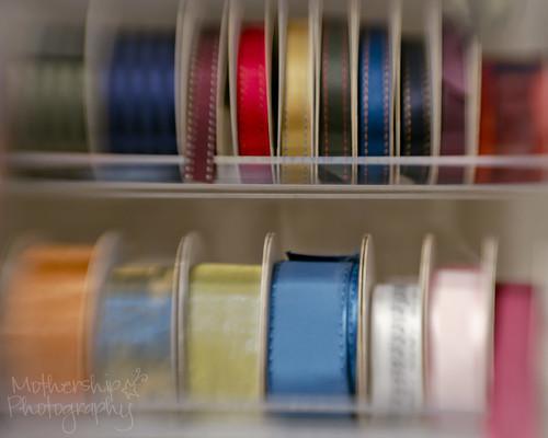 358:365 Lensbaby ribbons