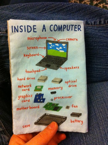 Baby's Book of Computer Science - back cover