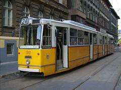 Classic Budapest tram