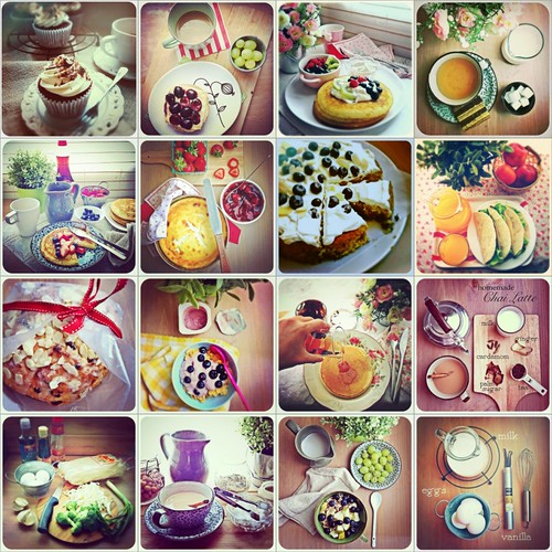 food iphoneography compilation