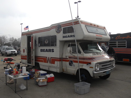 Bears Tailgate Winnebago