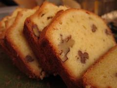 Walnut Pound Cake