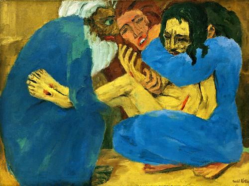 [ N ] Emil Nolde - La Mise au tombeau (1915) by Cea.