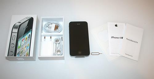 iPhone 4S - Verpackungsinhalt