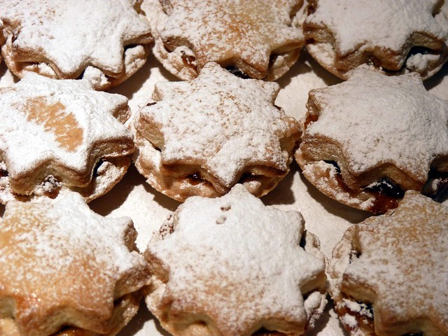 Home made mince pies - close up!