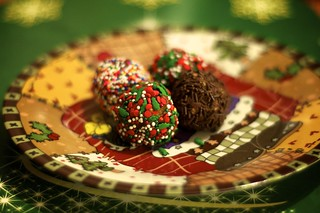 Chocolate Christmas Balls