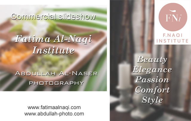 Commercial slideshow for Fatima Institute