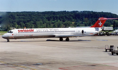 HB-IND MD-80 SwissAir ZUR