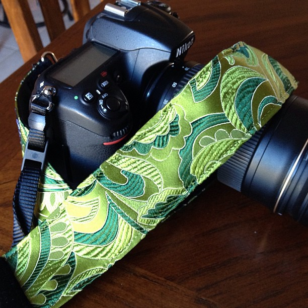 Awesome New Camera Strap - a Present from my Thoughtful Daughter