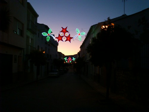 Atardecer nochebuena 2011