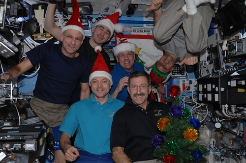 X-mas day with Expedition 30