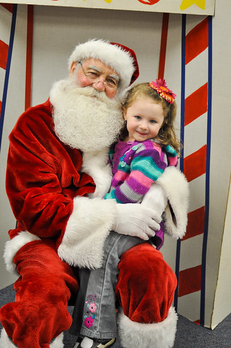 Santa and Emmy | 2011