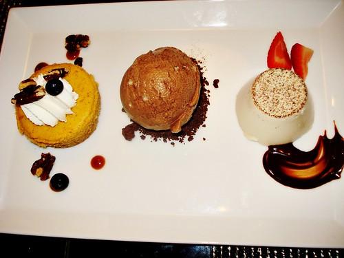 Chef's Sampler Dessert