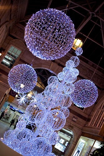 898/1000 - Christmas Decorations in St. Michael's Arcade by Mark Carline