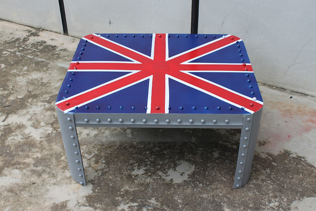 Union Jack Industrial Coffee Table Flickr Photo Sharing