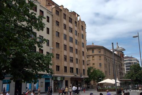 Edificios de viviendas en la avenida de Carlos III