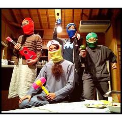 頭巾結びレンジャー