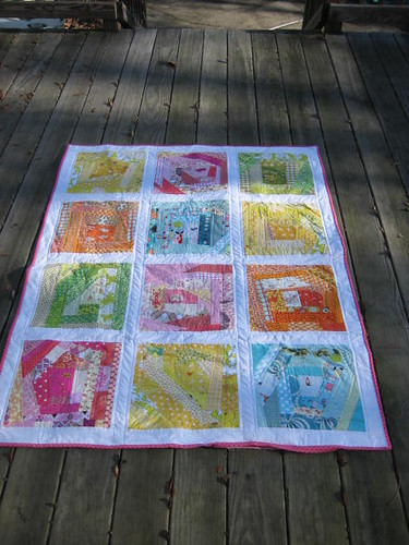 Leah's Epic Adventure Quilt