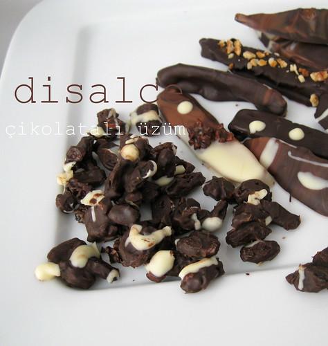 çikolatalı üzüm