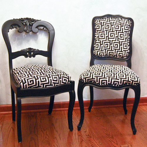 Reupholstering Dining Room Chairs: My Reupholstered Chairs Project