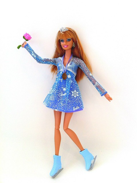 barbie ice skating coloring pages - photo#35