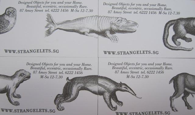 Strangelets Storecards 2
