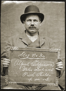 Alfred Wilkinson, clerk, arrested for obtaining money by false pretences