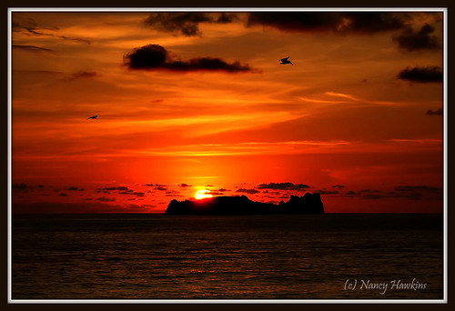 Tequila Sunset by Nancy Hawkins