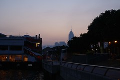 Early morning in Hong Kong Ferry pier
