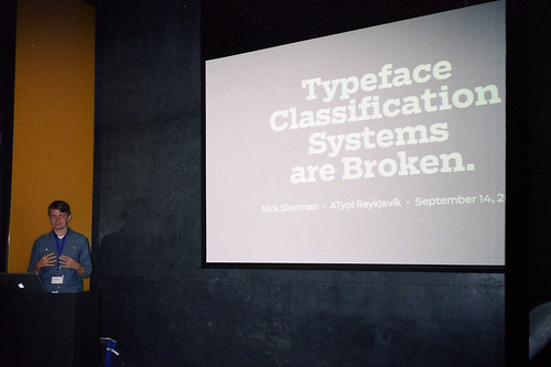 Typeface Classification Systems are Broken.