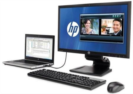 HP Compaq L2311c notebook docking monitor