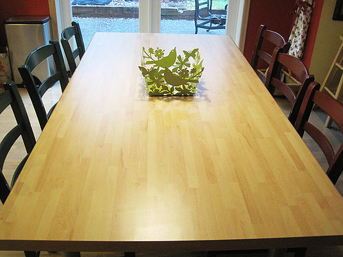 Bare Kitchen Table