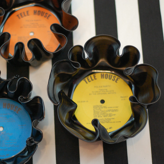 DIY Vinyl Record Bowl