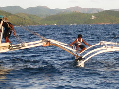 Tying Two Bancas Together