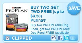 Pro Plan Dog Food Coupon