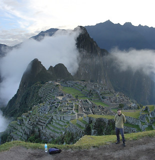 Machu Picchu - Rick - photo by George Novak