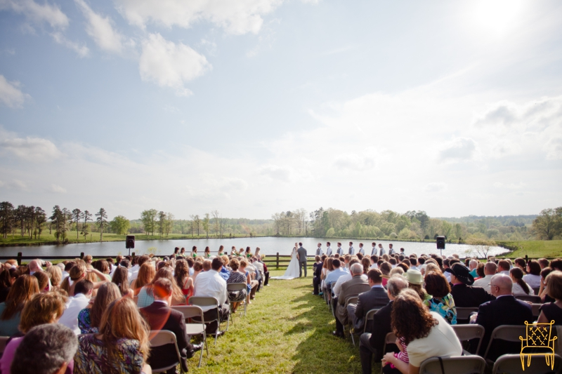 gray and yellow outdoor vintage wedding_052